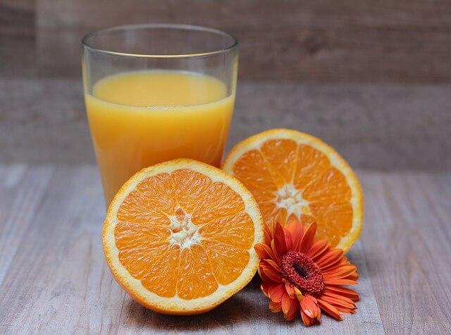 イライラ解消する飲み物オレンジジュース